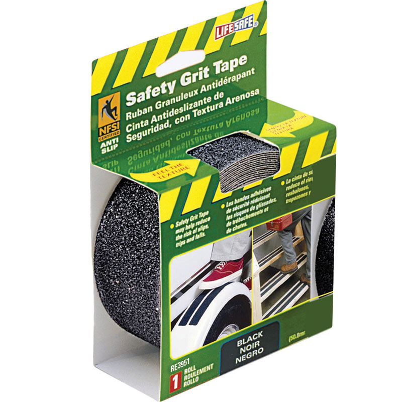 Life-Safe RE3951 Anti-Slip Safety Grit Tape - 2