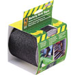 "4"" x 15' Black Anti-Slip Safety Grit Tape"