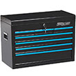 "7-Drawer 26"" Black Tool Chest"