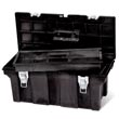 "Rubbermaid [7802] Industrial Tool Storage Box - Black - 26"" Long"