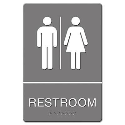 Headline Restroom ADA Sign