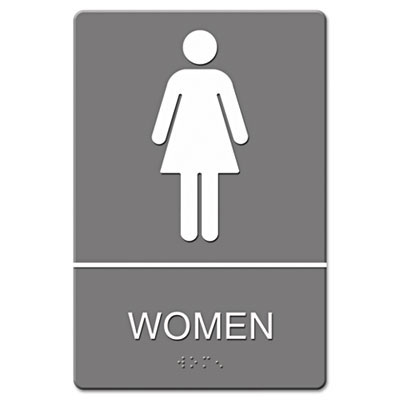 Women's Restroom ADA Sign