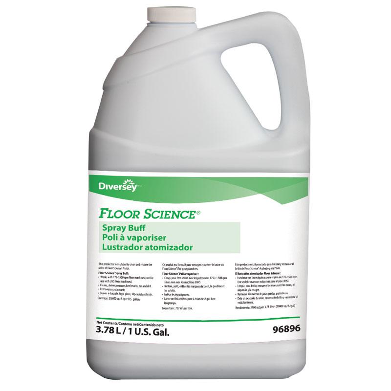 Johnson Diversey Floor Science Spray Buff