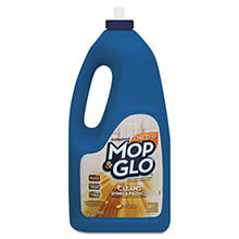 Mop & Glo Triple Action Floor Shine Cleaner - (6) 64 oz. Bottles
