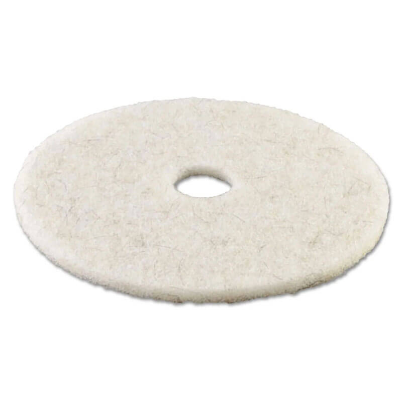 Premiere Pads Floor Machine Ultra High Speed Burnishing Pad - Natural Hair - (5) 20