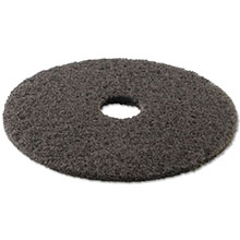 "Premiere Pads Floor Machine High Performance Stripping Pad - Sapphire - (5) 17"" Dia. Pads"