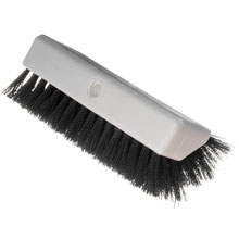 Sparta Hi-Lo Dual Surface Scrub Brush - Black - 10""