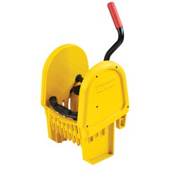 Rubbermaid [7575-88] WaveBrake® Bucket Downward Pressure Mop Wringer - Fits 35 qt. Bucket
