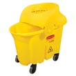 Rubbermaid [7590-88] WaveBrake® Insitutional Mop Bucket Combo - 33 qt.