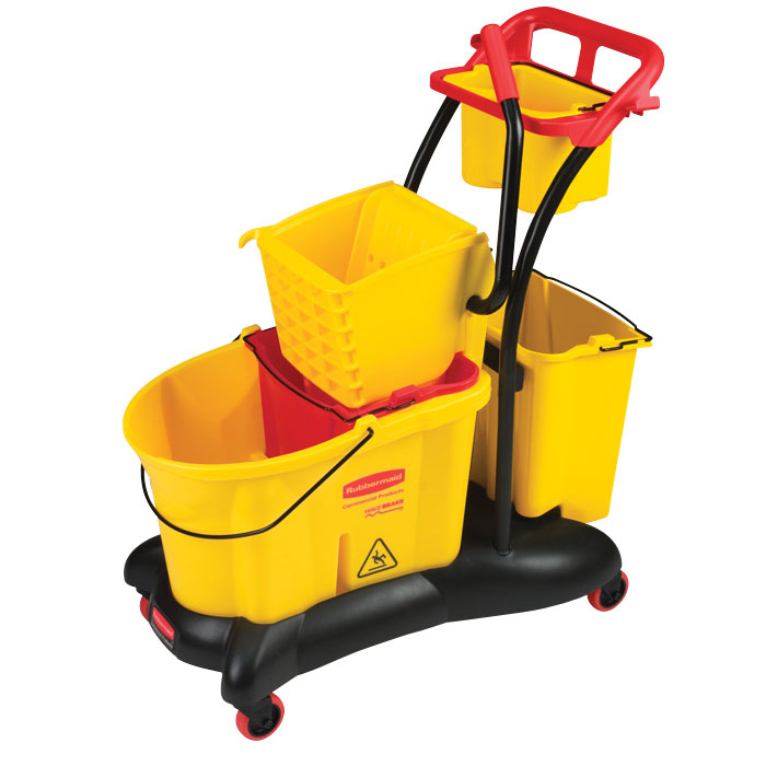 Rubbermaid WaveBrake Mopping Trolley - 35 qt.