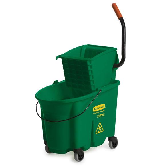 WaveBrake Mop Bucket Combo - Green - 35 qt.