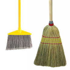 Brooms - Upright and Push Style