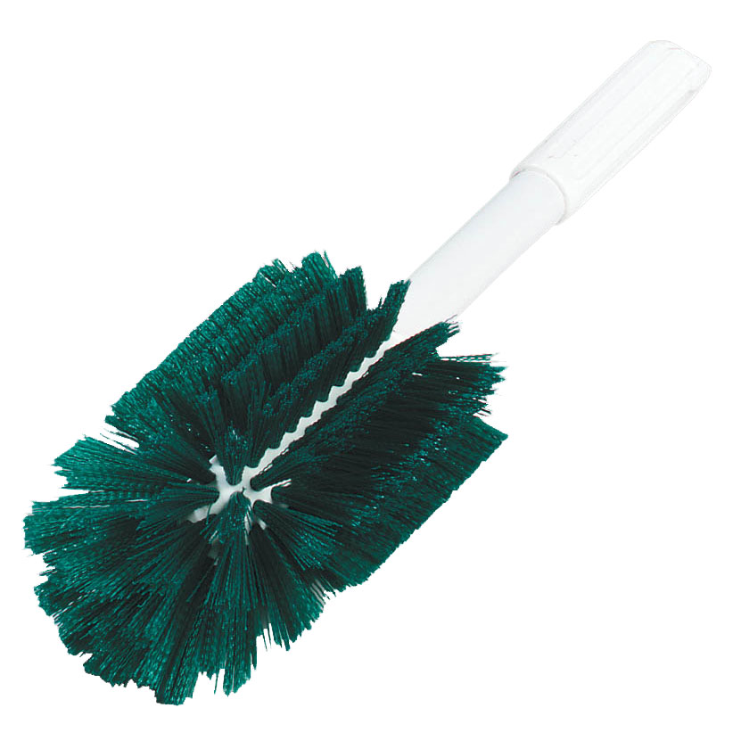Green Oval Shape Valve Brush - 16
