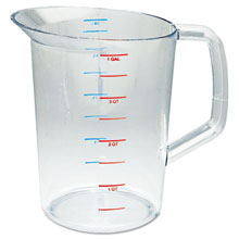 4 Qt. Clear Bouncer Measuring Cup RCP3218CLE