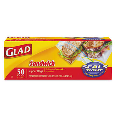 Clorox Professional Sandwich Seal Zipper Bags