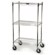 "ProSave Shelf Ingredient Bin Cart, 3 Shelves - 18"" x 26"" x 47.75"" RCP9G59"
