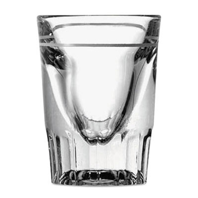 Anchor Hooking 1.5 oz Clear Line Whiskey Shot Glass