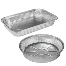 Aluminum Containers & Steam Table Trays