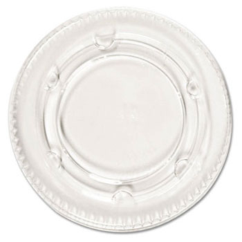 Boardwalk Plastic Clear Cup Lids