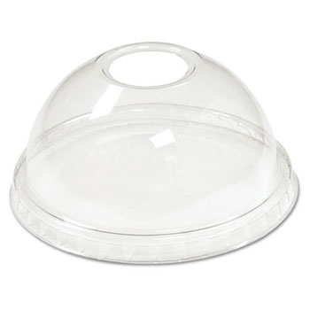 Boardwalk Clear Sundae/Cold Cup Dome Lids