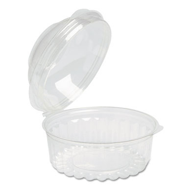 Clear Plastic Bowls w/ Dome Lids - (250) 8 Oz. Containers RFP10841