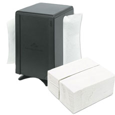 Napkins, Dispensers and Napkin Bands
