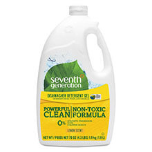 Seventh Generation Dishwasher Detergent Gel, Lemon