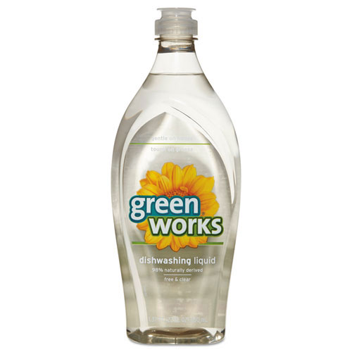Green Works Natural Clear Dishwashing Detergent