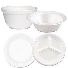 Dinnerware Plates u0026 Bowls - Foam  sc 1 st  UnoClean & Food Service - Disposables u0026 Storage - UnoClean