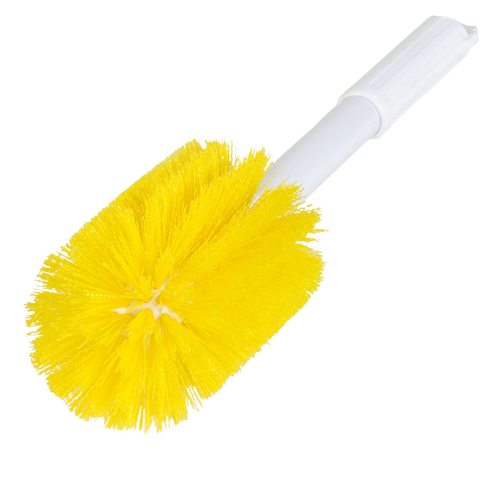 Yellow Multi-Purpose Valve Brush - 16