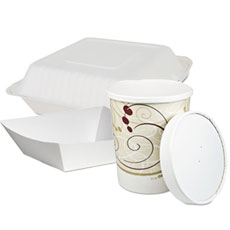 Food Containers - Paper and Foam