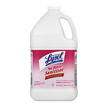 No Rinse Sanitizer - (4) 1 Gallon Bottles