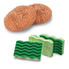 Scouring Pads & Scrub Sponges