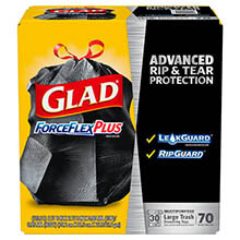 Glad ForceFlex Large Trash Bags