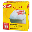 Glad Tall Kitchen Drawstring Bags
