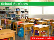 Nilodor SpectraSan 24™ Disinfectant, Fungicide & Virucide - School Surfaces Video