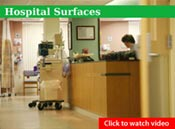 Nilodor SpectraSan 24™ Disinfectant, Fungicide & Virucide - Hospital Surfaces Video