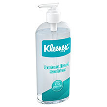 KLEENEX Instant Hand Sanitizer, 8oz, Pump Bottle, Sweet Citrus KCC93060