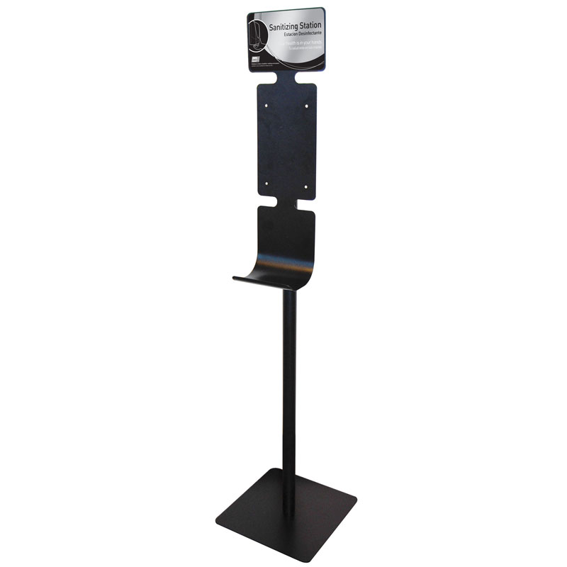 Hand Sanitizing Station Stand - Black SBS-92752