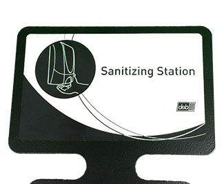 deb SBS Sanitizer Stand