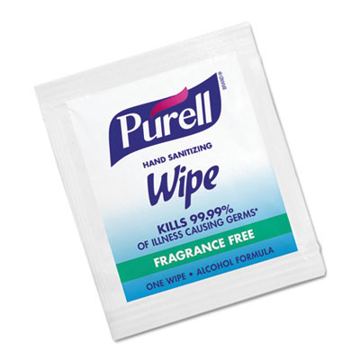 GOJO PURELL Instant Hand Sanitizing Wipes