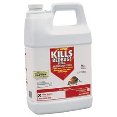 J.T. Eaton [204-O1G] Bed Bug, Fleas & Brown Dog Ticks Killer - (4) 1 Gallon Bottles