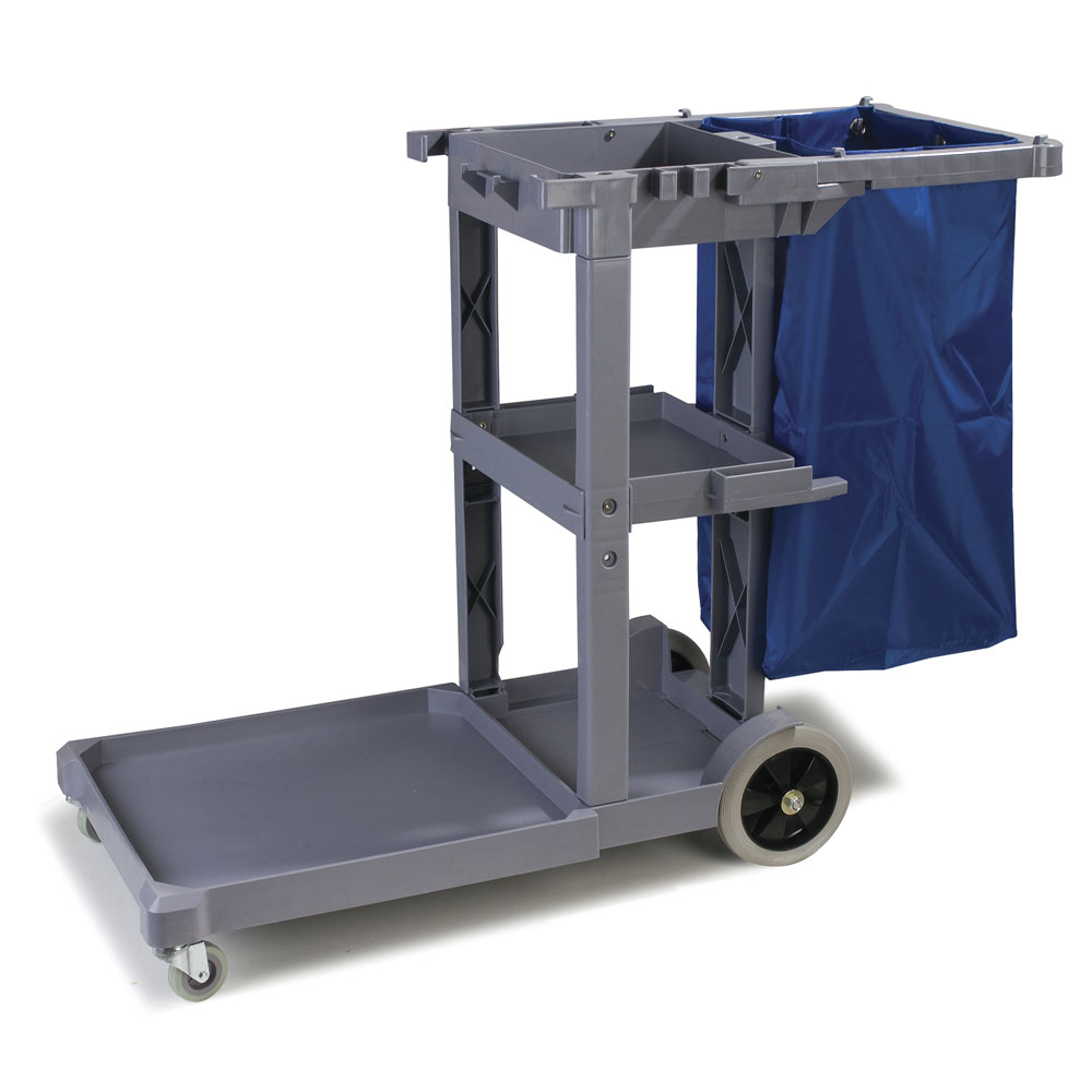 JC1945L Long Platform Janitorial Cart