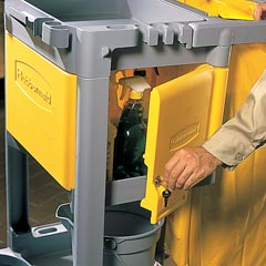Rubbermaid [6181] Janitorial Cart Locking Cabinet