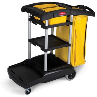 Rubbermaid [9T72] High Capacity Janitorial Cleaning Cart