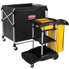 Housekeeping & Janitorial Carts by Rubbermaid
