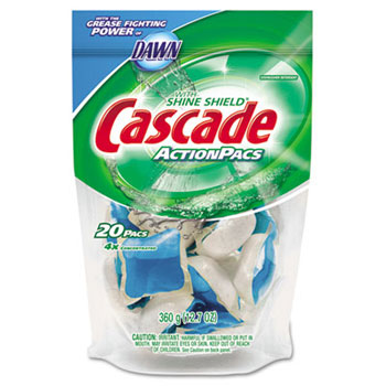 Cascade Action Pacs Dishwashing Detergent