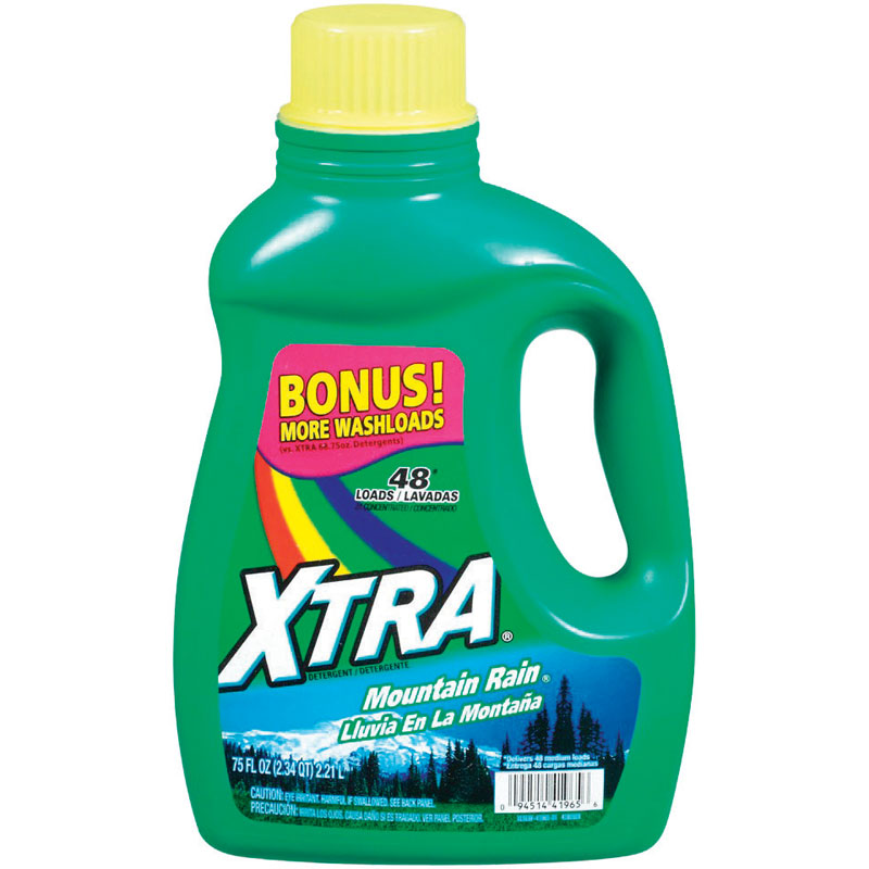 Xtra 2X Concentrated Liquid Laundry Detergent - 75 oz.