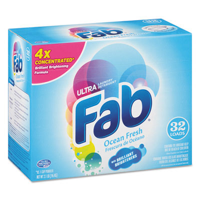 Fab Ultra Powdered Laundry Detergent