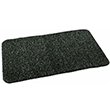 "Grassworx Clean Machine High Traffic Astroturf Doormat - Charcoal - 17.5"" x 29.5"" 621848"